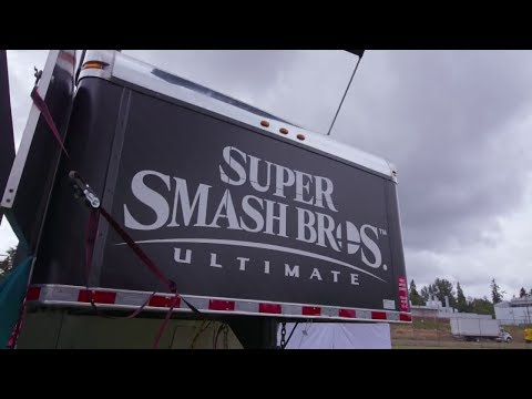 Super Smash Bros. Ultimate Wendy's College Tailgate Tour promotional video