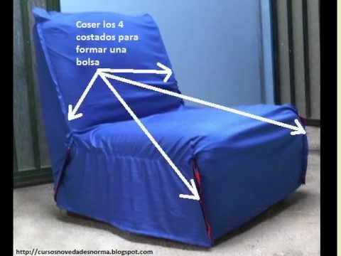 Fundas para sillones youtube - Como confeccionar cojines para sofas ...