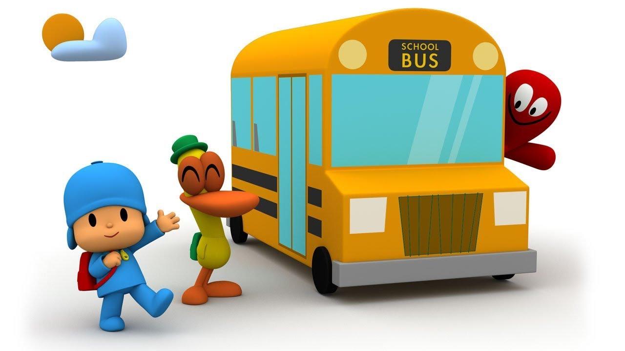 Pocoyo ritorno a scuola 🏫 minuti con pocoyo