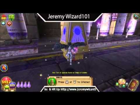 Wizard101: Puzzle Solved: Test Of Aptitude (Temple Of Storms Krokotopia)