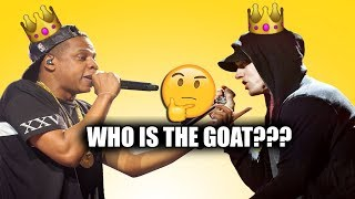 Eminem or Jay - Z Who Is The Goat?