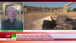 UK launches first airstrikes against ISIS in Iraq