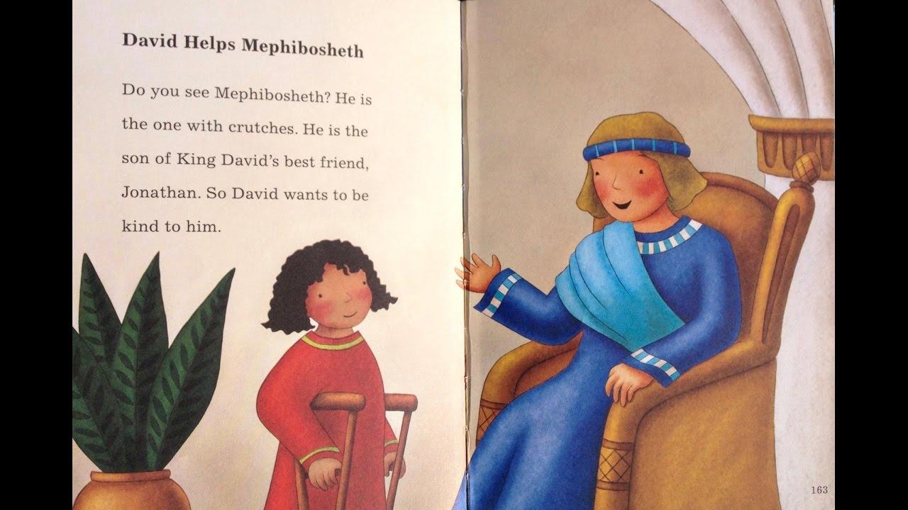 Childrens Bible Story David Loves Mephibosheth Toddlers 39 2 Fish Talks