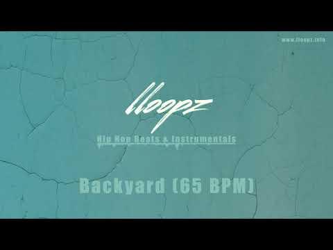 Free Hip Hop Beat  Backyard prod  LLOOPZ 65 BPM