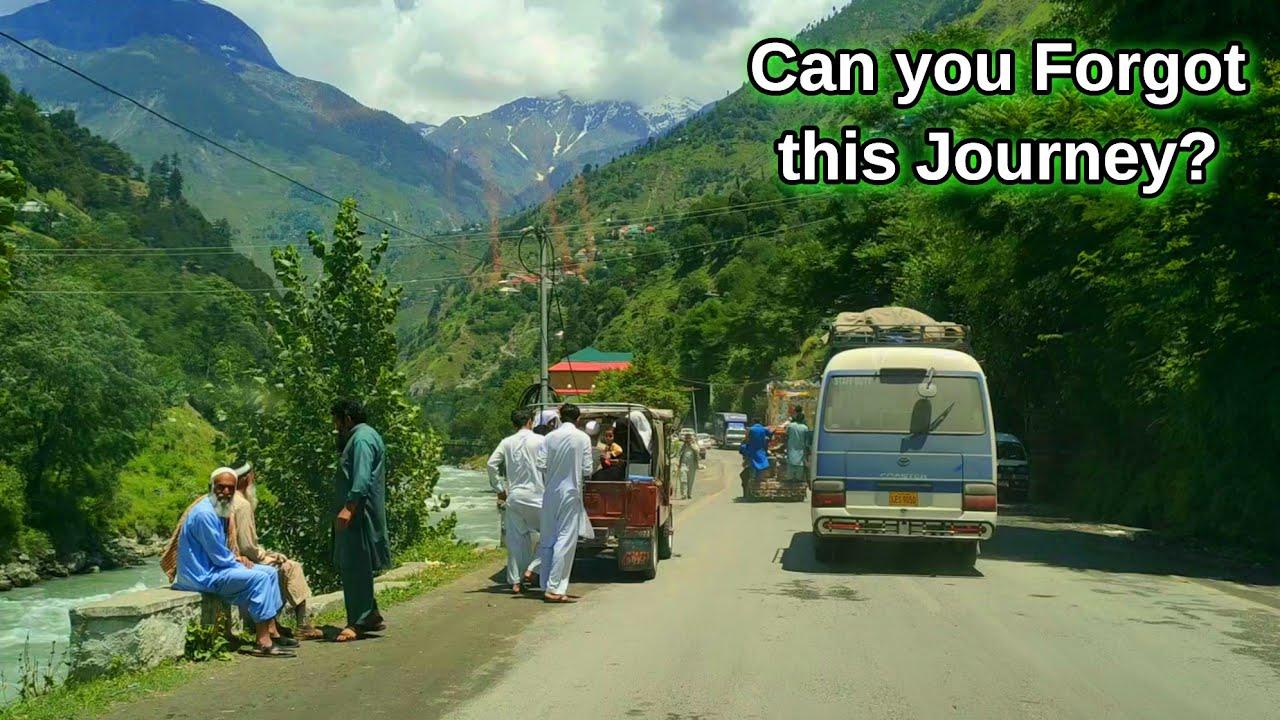 Pakistan's Most Beautiful Road Journey || Balakot to Naran & Babusar Top