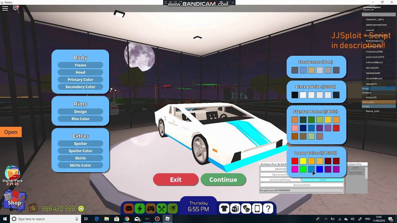 Roblox Rocitizens Unlimited Money Hack August 2019 Works Youtube