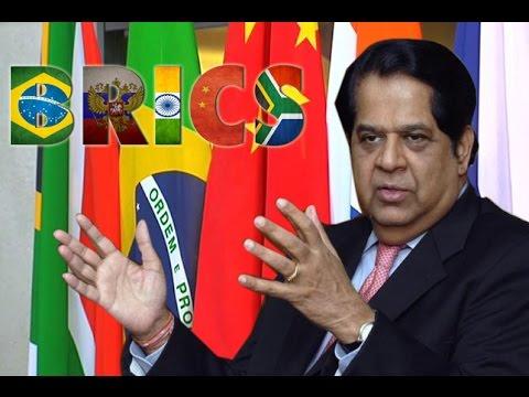Briefing by BRICS bank President: Mr KV Kamath