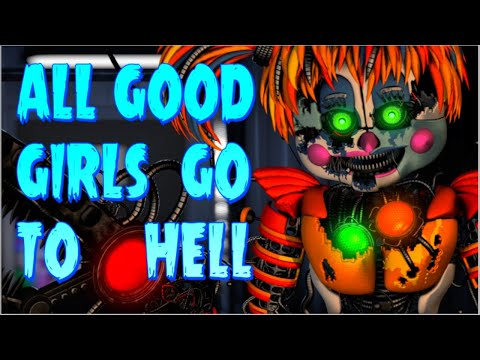 FNAF SONG: Billie Eilish - All The Good Girls Go To Hell