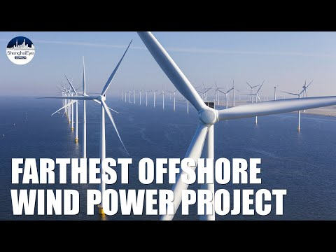 Cutting 930,000 tons of emissions! China unveils its farthest offshore wind power plant with France