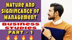 Class 11 Business Studies Important Notes, Ch-1 Nature and Purpose