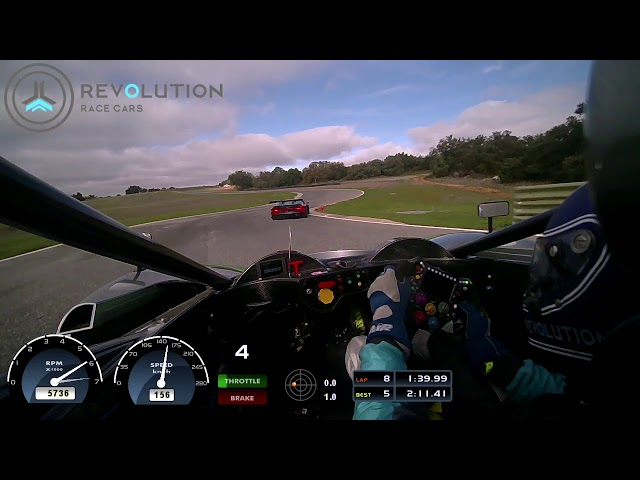Revolution Race Cars VS Lamborghini Huracan GT3 EVO at Ascari