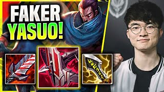 FAKER BRINGS BACK HIS ICONIC YASUO ADC! - T1 Faker Plays Yasuo ADC vs Samira! | Season 11