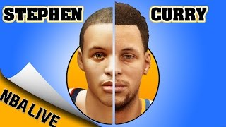 STEPHEN CURRY evolution [NBA LIVE 10 - NBA LIVE 16] 🏀