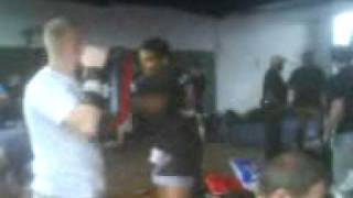 Thai boxing training guly