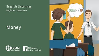 Learn English Via Listening | Beginner - Lesson 60. Money