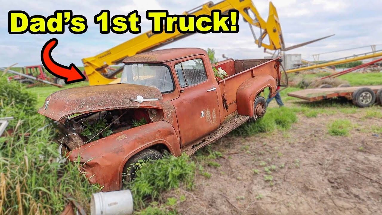 We Sold Our Original 1956 Ford F-100.