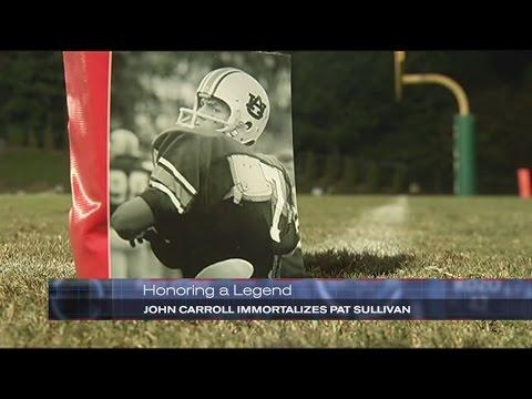 Honoring a Legend: John Carroll immortalizes Pat Sullivan