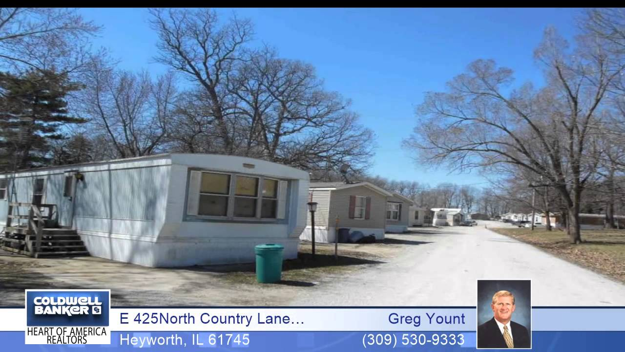 E 425North Country Lane Mobile Home Park Heyworth IL Homes For Sale