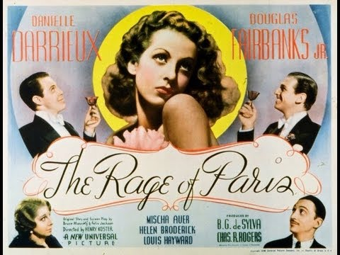 LA SENSACION DE PARIS (THE RAGE OF PARIS, 1938, Full movie, Spanish, Cinetel)