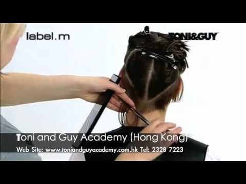 Video clip dạy cắt tóc nghệ thuật Toni&guy 4c -www.viethairhua.com