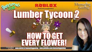 Lumber Tycoon 2 Beesmas 2018 How to Get Every Flower!