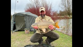 End of Winter Carp Fishing Session 20 02 20