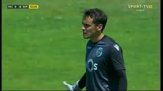 Palavras de Jorge Sousa durante o Real SC x Sporting CP B