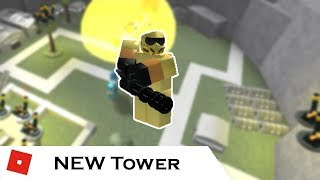 Golden Commando | Tower Reviews | Tower Battles [ROBLOX]