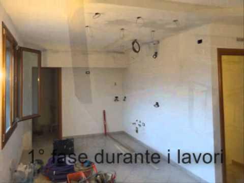 ristrutturare e rifare la cucina - chiavi in mano- - YouTube