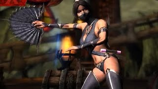 Mortal Kombat X - Mournful Kitana Super Attack Moves [iPad/Android]