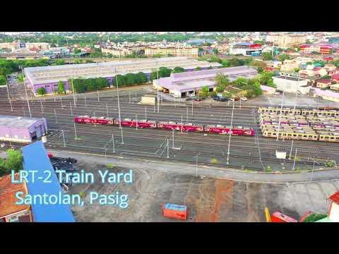 LRT Line 2 Train Yard