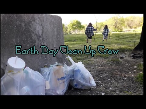 Earth Day Clean Up Crew