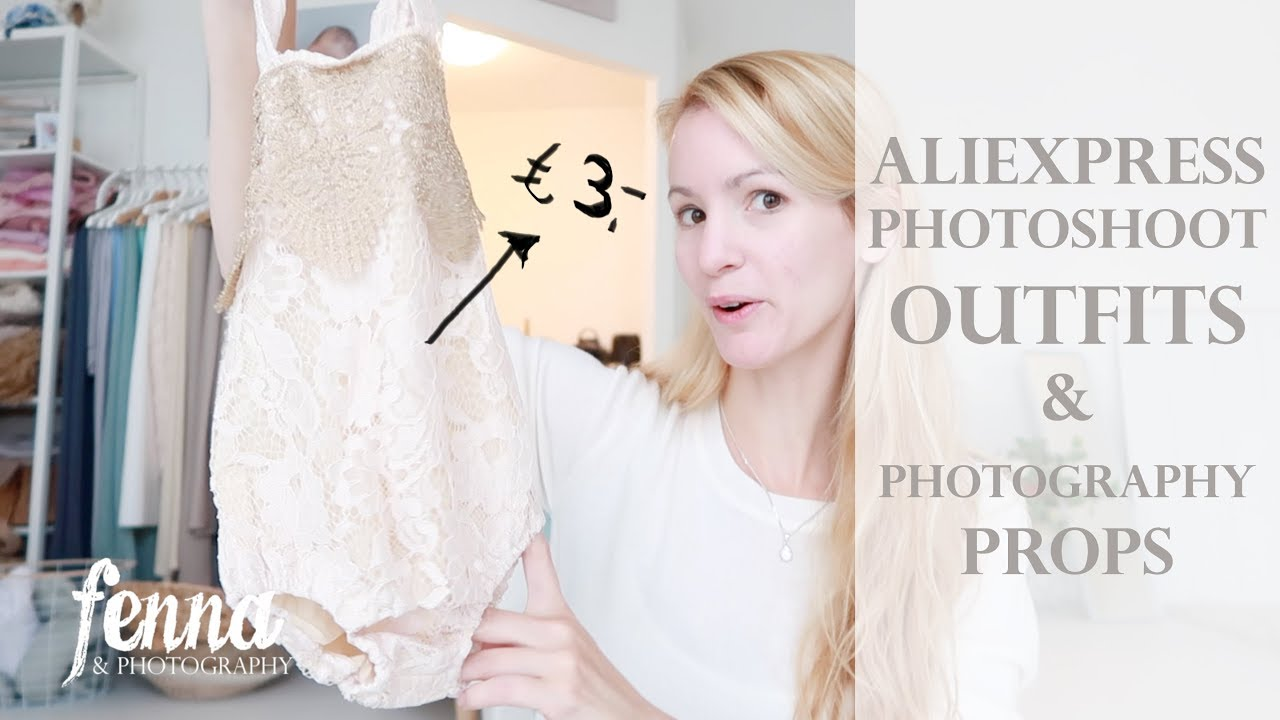 6334f99addbc2 Aliexpress Photoshoot Outfits and Photography Props - Shoplog - YouTube