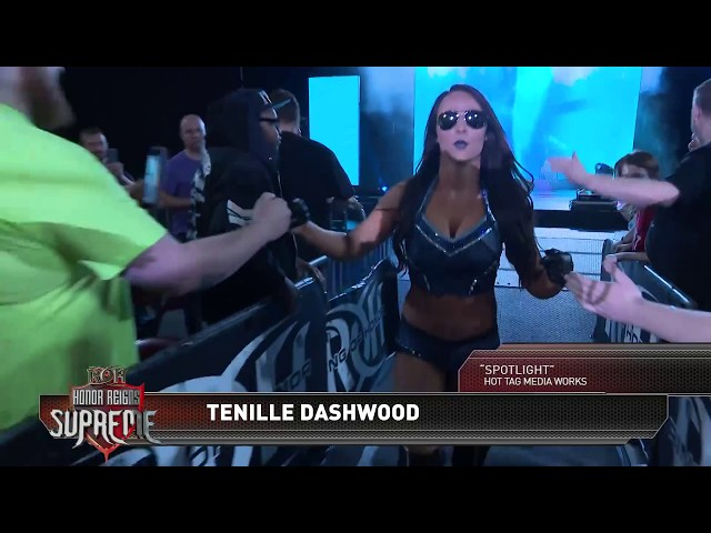 Image result for (Tenille Dashwood) Emma ROH Honor Reigns Supreme debut match