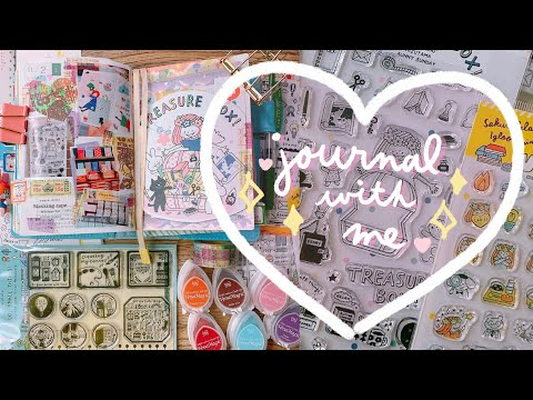 Relaxing Journal With Me   Treasure Box Stationery Event in Tokyo, Japan 🌟   Rainbowholic