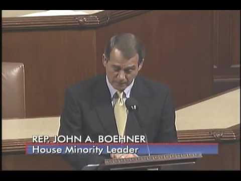 John Boehner Healthcare Vote Speech