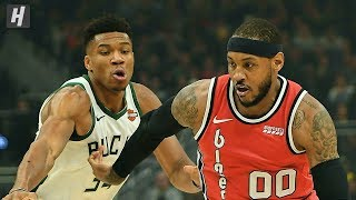 Portland Trail Blazers vs Milwaukee Bucks - Full Game Highlights | November 21 | 2019-20 NBA Season