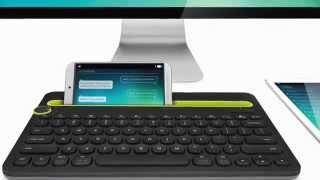 First Setup of the Logitech K480 Multi-Device Keyboard