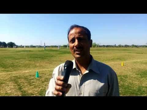 Director country cricket stadium interview at country cricket stadium