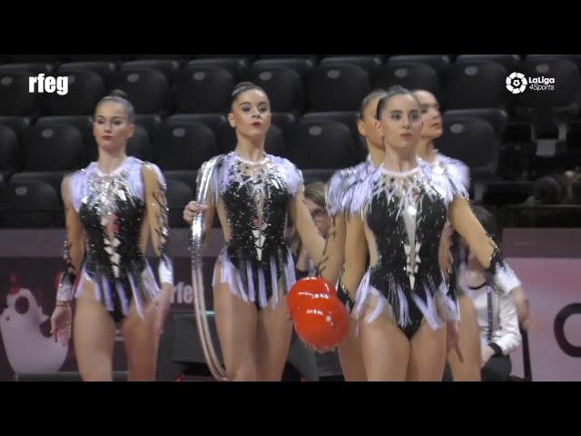 📺 Campeonato de España de Conjuntos Gimnasia Rítmica Divina Pastora 2018 - Viernes tarde