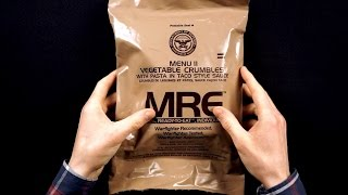 ASMR US Military MRE