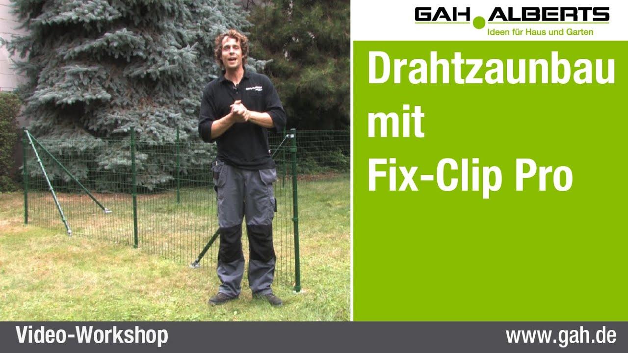 Frisch GAH Alberts Workshop - Zaunbau mit Fix-Clip Pro, Im Flachland und  BK93