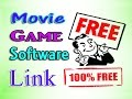 Free movie game software download Link