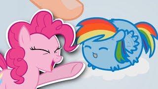 Pinkie Pie Plays No Touching! II My Little Pony Tsum Tsum