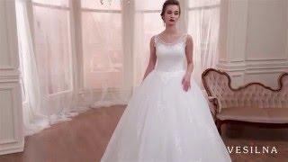 Свадебное платье 2016 года от VESILNA™ модель 3074