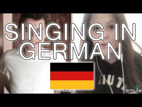 SINGING IN GERMAN - Wir Sind Groß (Mark Forster) | Pasci & Pedro Rivas