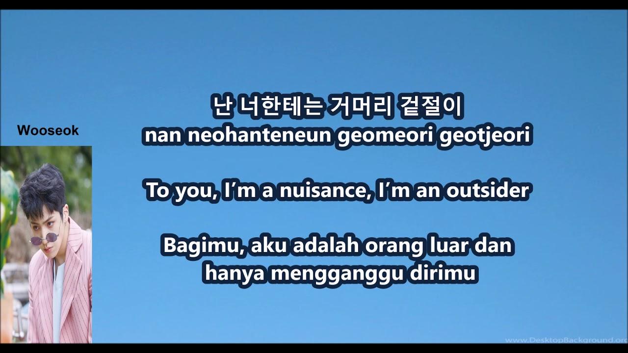 Pentagon Shine With Eng Malay Han Rom Lyrics Youtube