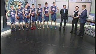 Юные чемпионы по баскетболу