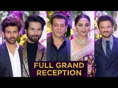 Bollywood STARS At Sooraj Barjatya Son Devaansh Barjatya Wedding Reception | UNCUT | Full RED Carpet Mp3