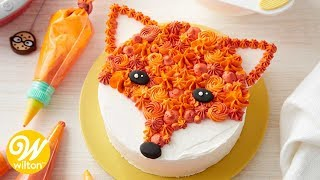 How to Make a Buttercream Fox Cake | Wilton